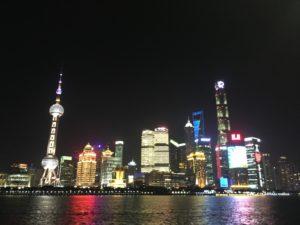 上海 外灘の夜景