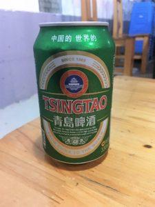 青島ビール 5.5元