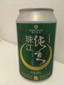 珠江啤 酒純生 3.5元