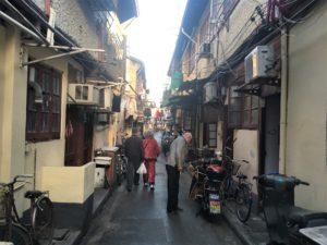 上海の下町