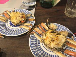 上海蟹剥き代10元