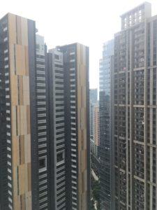 Elves Homestay 39階からの眺め