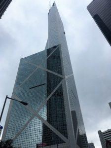 香港島の金鐘(アドミラルティ)