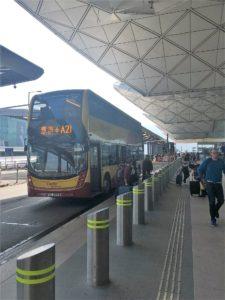 機場巴士(空港バス)A21系統 香港国際空港空港で33HK$