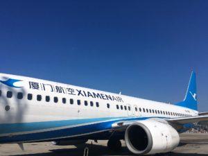 厦門航空(XIAMEN AIR)の機体