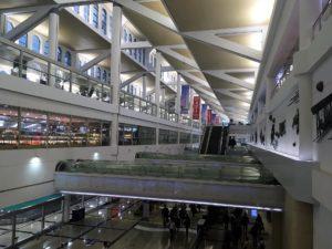 廈門高崎国際空港の内部