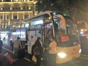 廈門高崎国際空港から中山路までのバス