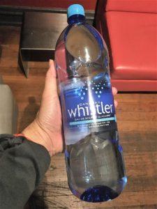 バンクーバーの水は1.5Lで2.23CA$