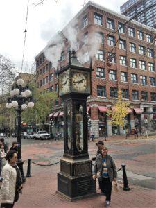 バンクバー ガスタウンの蒸気時計