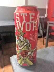 SteamworksのHEROICA RED ALE 500ml
