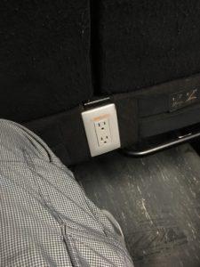 グレイハウンドバスの電源