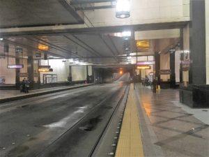 シアトルのウエストレイク駅