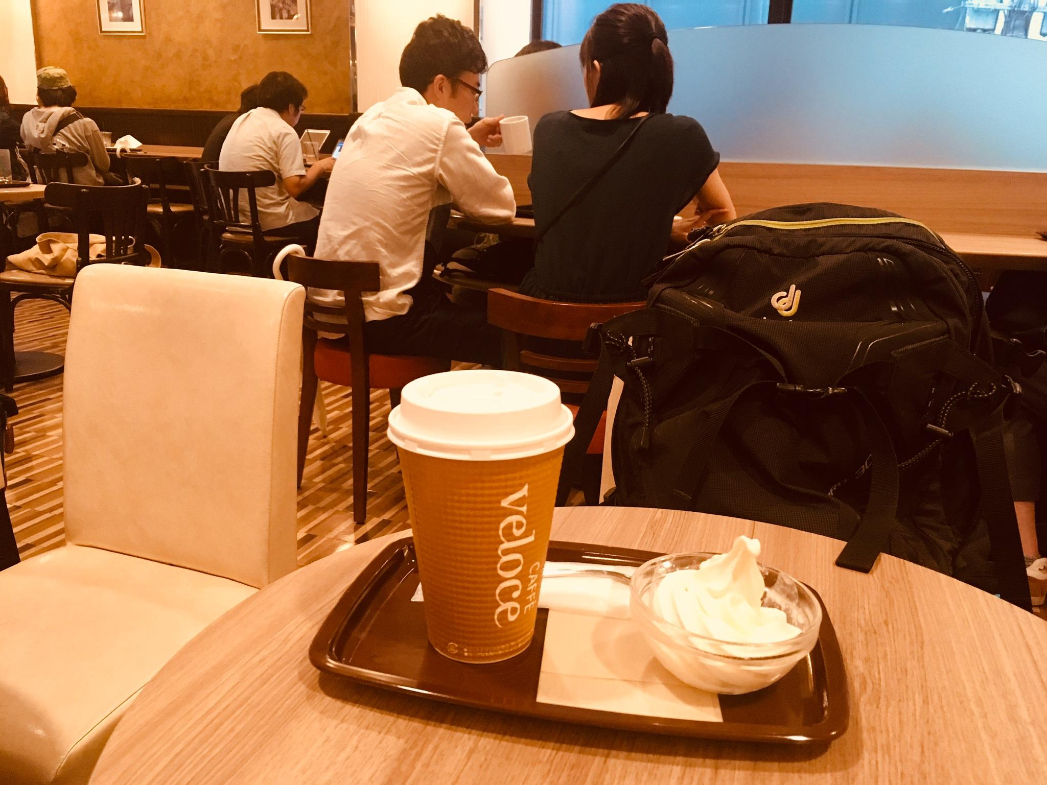 フェベローチェ上野三丁目店のブレンドコーヒーL