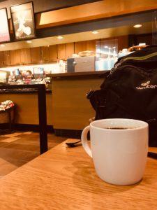 STARBUCKS新宿マインズタワー店のクリスマスブレンドエスプレッソロースト
