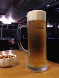 パンスタードリームのラウンジのビール
