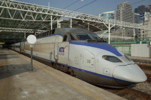 KTX/韓国高速鉄道( 한국고속철도)